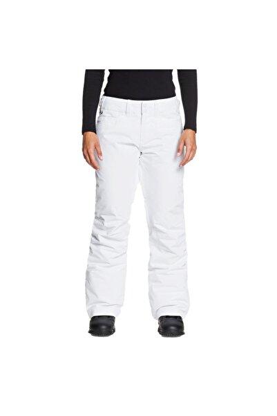 Roxy Kadın Beyaz Cepli  Spor Pantolon