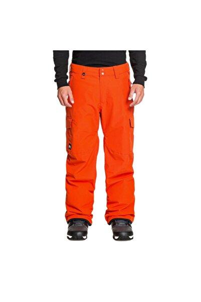 Quiksilver Erkek Turuncu Cepli  Spor Pantolon