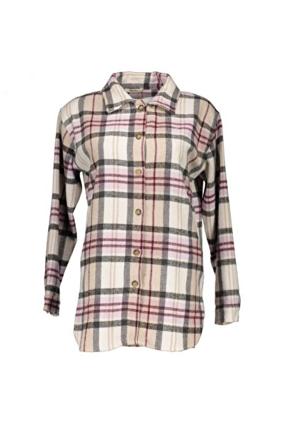 Collezione Kadın Ekose Kalın Oduncu Gömlek Ucb540849a25