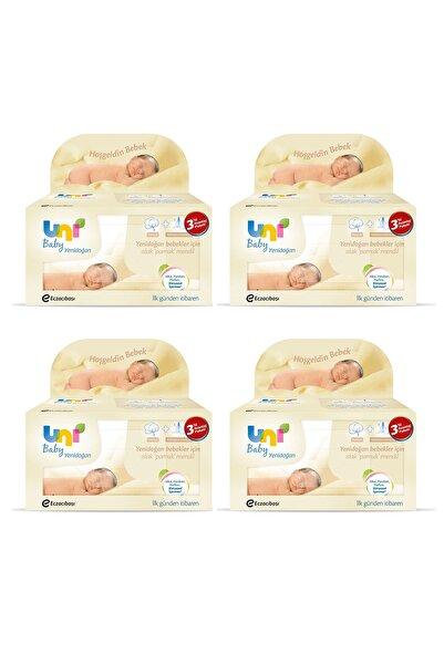 Uni Baby Yeni Doğan 3'lü Avantaj 4'lü Set Islak Mendil