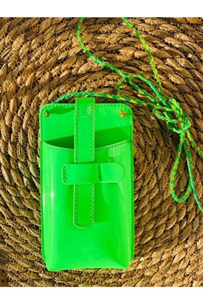layra butik Yeşil Telefon Çantası
