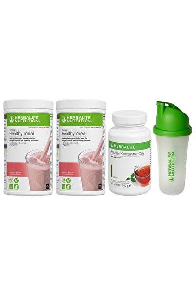 Herbalife Aylık Ekonomik Set-10 1 Ahududu 1 Ahududu Shake +100gr Çay + Shaker