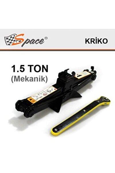 Space 1.5 Ton Makaslı Mekanik Kriko (cırcırlı Kriko)