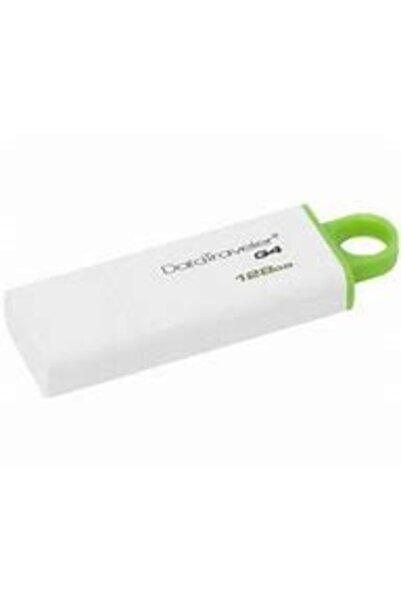 Kingston Dtıg4 128 Gb Usb 3.0 Beyaz-yeşil Plastik Kasa Flash Bellek