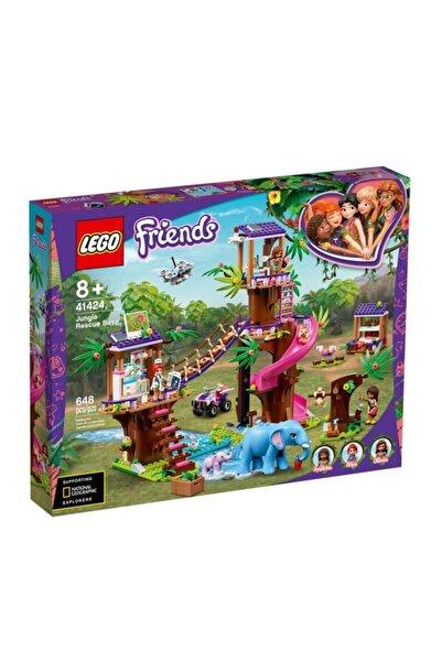 LEGO Fr-orman Kurtarma Üssü Friends 648 Pcs +8 Yaş Lgf41424