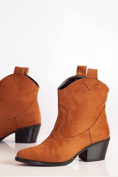 ayakkabıhavuzu Kadın Taba Bot  1800236