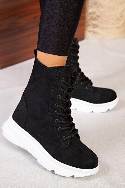 ayakkabıhavuzu Kadın Siyah Bot  1839854