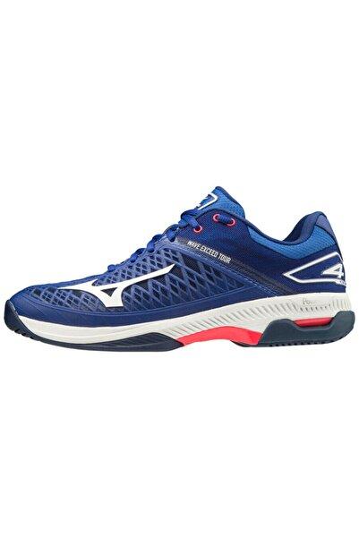 MIZUNO Unisex Lacivert Tenis Ayakkabısı