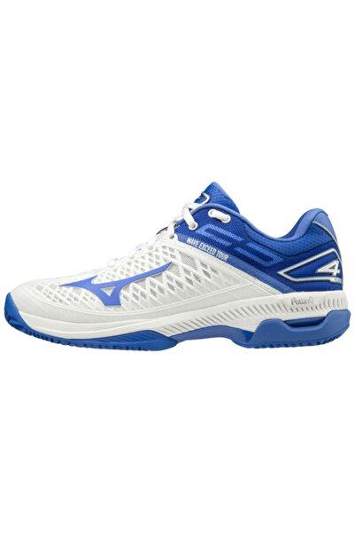 MIZUNO Unisex Mavi Tenis Ayakkabısı