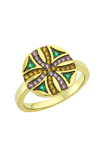 Luzdemia Sirius Star Ring 925 - Multi Colored