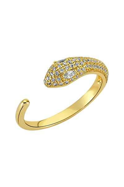 Luzdemia Snake Ring 925 - Gold