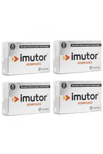 Imutor Imutor Kompleks Beta Glukan 30 Tablet 4 Kutu  Vitamin
