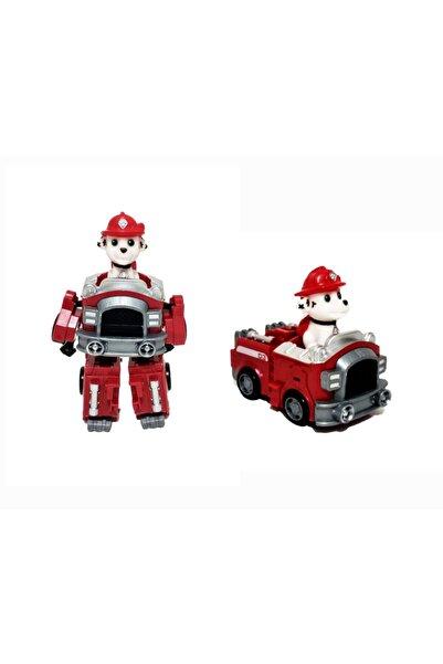 e-life Paw Patrol Dönüşebilen Robot & Araba Karakter Oyuncak Figürü Marshall Es18399mp