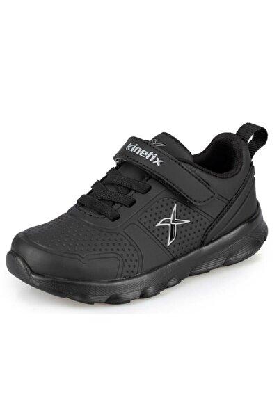 Kinetix Unicex Çocuk Siyah Almera Ortopedik Spor Ayakkabı