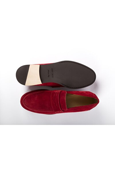 Jimmy Choo Erkek Kırmızı Loafer Ayakkabı
