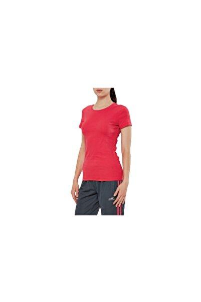 Lescon Kadın  Kırmızı Penye Spor T-Shirt