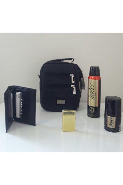 SEVENTEEN Babalar Günü Hediye Seti Cüzdan Çanta Çakmak Jagler Deodorant Roll-on