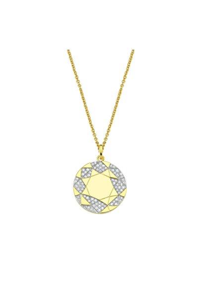 Luzdemia Planet Necklace 925 - Gold / White