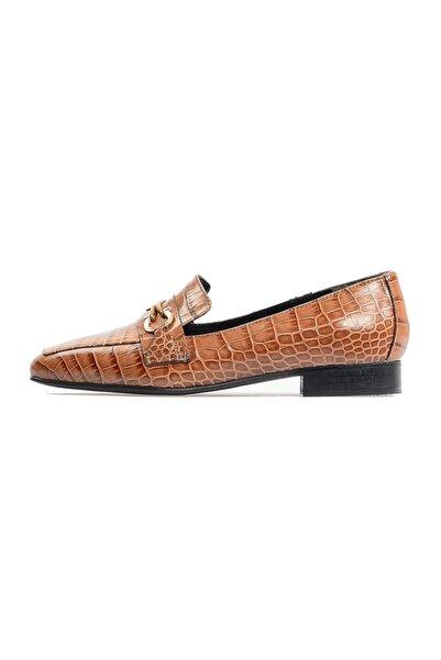 Flower Kadın Vizon Tokalı Günlük Ayakkabı