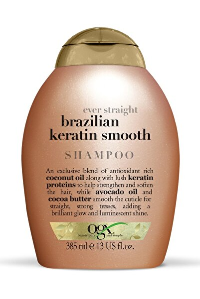 OGX Düzleştirici Etkili Şampuan - Brazilian Keratin Therapy Shampoo 385 ml 022796976017