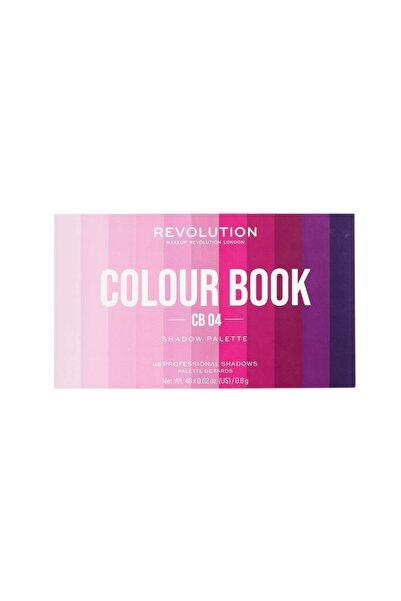 MAKEUP REVOLUTION Revolution Colour Book No: Cb04 Far Paleti
