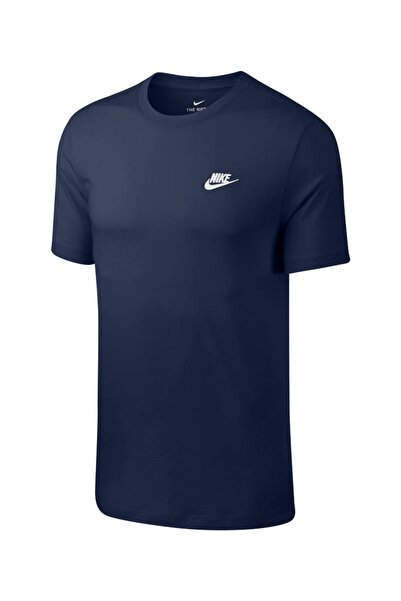 Nike Erkek Spor T-Shirt - M NSW CLUB TEE - AR4997-410