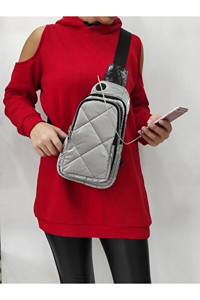 Masis 2612 Kadın Füme Bodybag Çanta