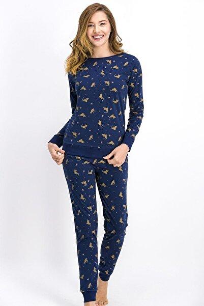 Arnetta Kadın  Lacivert Pijama Takımı 988