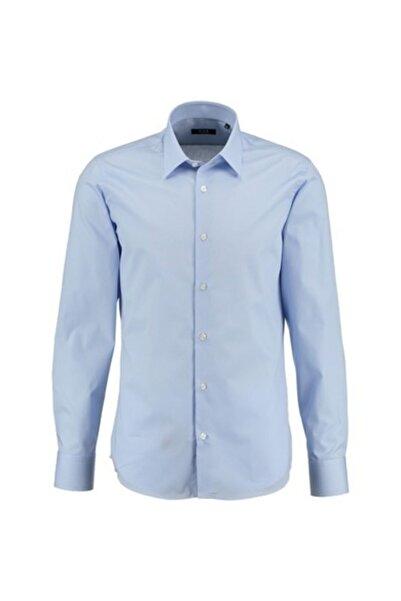 Sarar Erkek Mavi Frank Uzun Kol Gömlek