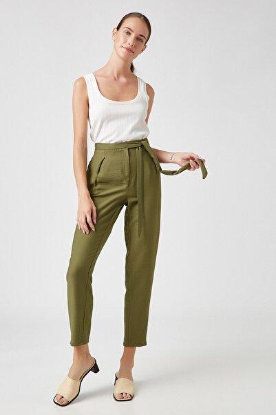 Koton Kadın Haki Jeans 0YAK42432UW