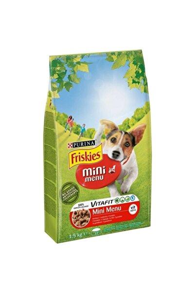 Friskies 1,5 Kg Etli Mini Menü Köpek