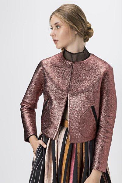 Exquise Kadın Bakır Renk Ceket 6105004