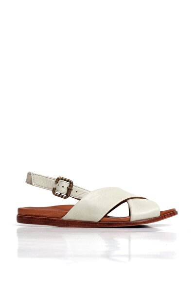 BUENO Shoes Hakiki Deri Kadın Düz Sandalet 20wq8702