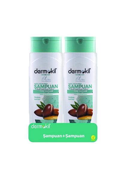Dermokil Argan Şampuan 400ml 2'li Set