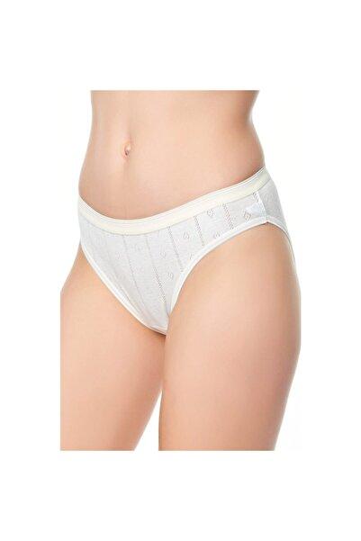 Tutku 3'lü Paket Kadın Jakarlı Bikini Külot Tkd679