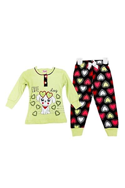 Tarık Kız Çocuk Cute Dog Baskılı Pjama Takımı