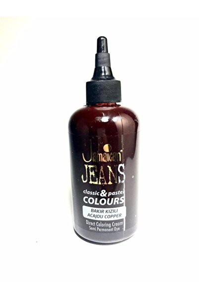 Jamaican Jean's Color Saç Boyası Bakır Kızılı Boya1018