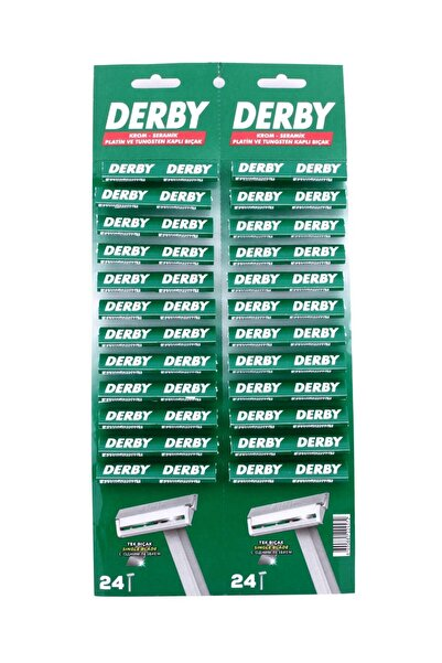 Derby Tek Bıçaklı 48'li Kartela