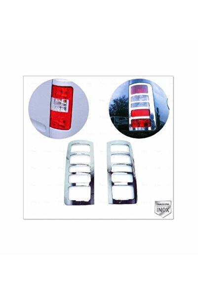 FAMS OTO AKSESUAR Ford Connect Krom Stop Çerçeve 2 Prç. 2002-2009 P. Çelik