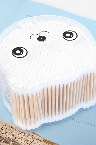 YOYOSO Panda 500 Adet Kulak Temizleme Çubuğu