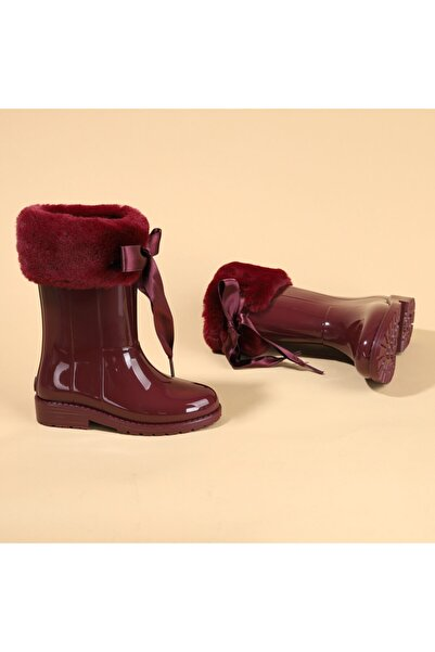 IGOR W10239 Campera Charol Soft Kız Çocuk Su Geçirmez Yağmur Kar Çizmesi