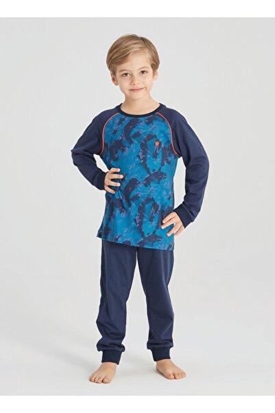 Blackspade Erkek Çocuk Pijama Takımı 30408 - Sonbahar Deseni