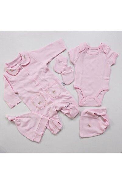 Pierre Cardin Baby Bebe Yakalı Kavaniçe Tulum Set 979