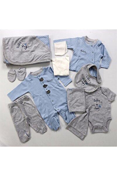Pierre Cardin Baby 10'lu Puantiyeli Hastane Çıkışı Mavi