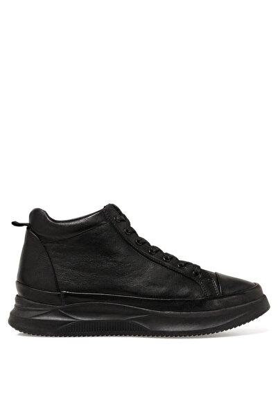 İnci Erkek Siyah Akyer Günlük Ayakkabı