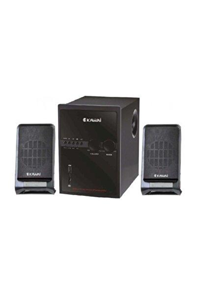 Kawai Hs-66n Usb+sd+fm Radyolu 2+1 Ses Sistemi Speaker Ve Hoparlör
