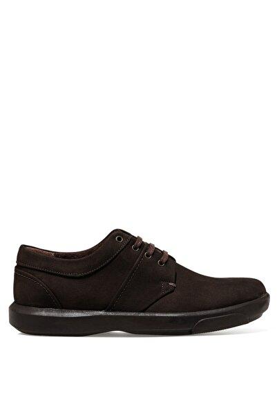 İnci Erkek Kahverengi Sekpa Günlük Ayakkabı