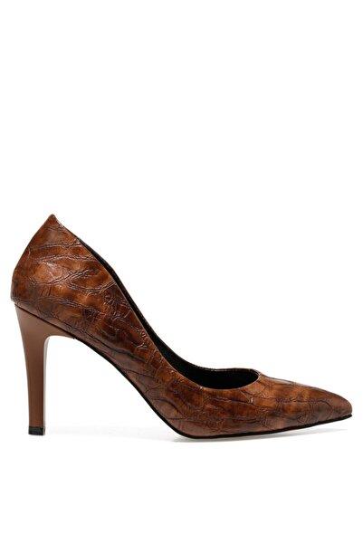 İnci Kadın Kahverengi Gova Ayakkabı