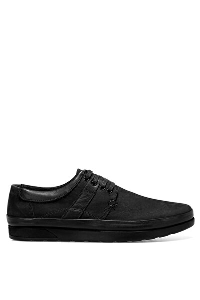 İnci Erkek Siyah Tuka2 Günlük Ayakkabı