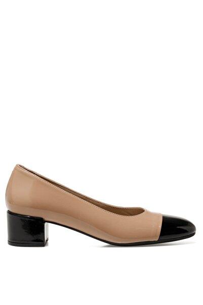 İnci Kadın  Bej Nude Kadın Gova Ayakkabı